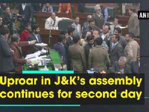 Uproar in J-K's assembly continues for the second day [Video]