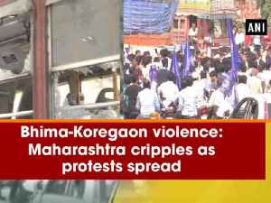 News video: Bhima-Koregaon violence: Maharashtra cripples as protests spread