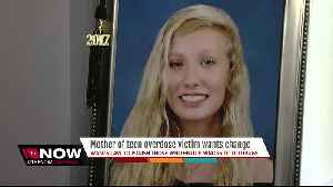 News video: Plant High senior dies of opioid overdose, mother now asking lawmakers for help to save young lives