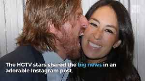 News video: Chip And Joanna Gaines Issue A New Statement About Their Family