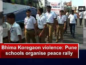 News video: Bhima Koregaon violence: Pune schools organise peace rally