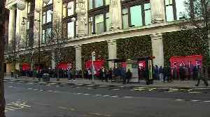 News video: UK economy: slimming down after lean Xmas?