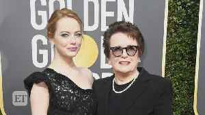 News video: Emma Stone and Billie Jean King Talk Time's Up: 'We Need Massive Systemic Change' (Exclusive)