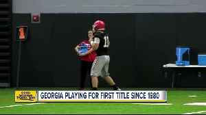 News video: Georgia playing for first title since 1980
