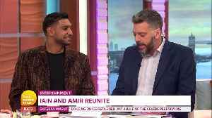 News video: Iain Lee And Amir Khan Settle I'm A Celebrity Row