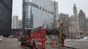 News video: Fire at Trump Tower