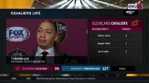 News video: Lue believes Cavs offense dictated defense in blowout loss