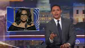 News video: Late-night laughs: Oprah running for president?