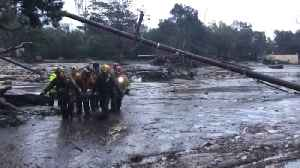 News video: 'Rivers of mud' leave several dead in post-fire California