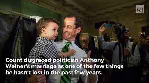 News video: Huma Abedin And Anthony Weiner Withdraw Their Divorce Filing