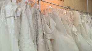 News video: Brutally Honest Woman Sells Wedding Dress After Failed Marriage