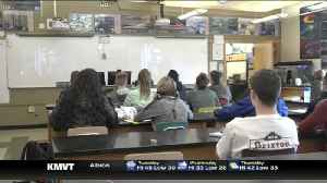 News video: Twin Falls High School student 1 of 300 receiving award