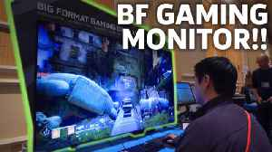 News video: Gaming On Nvidia's Huge 65-inch Monitor Is A BIG DEAL