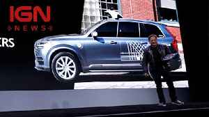 News video: CES 2018: Nvidia Partners with Uber, Volkswagen for Self-Driving Cars