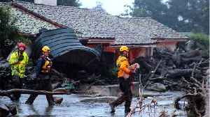 News video: Death Toll Rises To 17 In California Mudslides