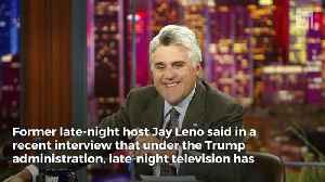 News video: Jay Leno: Constant Trump Bashing of Late-Night TV 'Depressing'