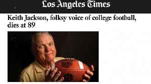 Legendary College Football Announcer Keith Jackson Dies at 89 [Video]