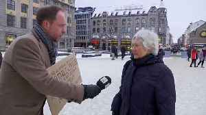 News video: Norwegians say: 'No thanks, Mr President!' to immigration welcome