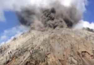 News video: New Footage of Papua New Guinea's Kadovar Volcano Erupting