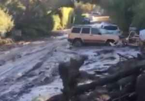 News video: California Firefighters Continue Search Following Deadly Mudflows