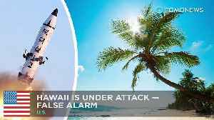 News video: False missile threat alert for Hawaii was human error