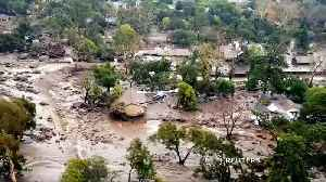 News video: Thousands mourn lives lost in mudslides
