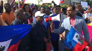 News video: Hundreds of Haiti supporters protest near Mar-a-Lago