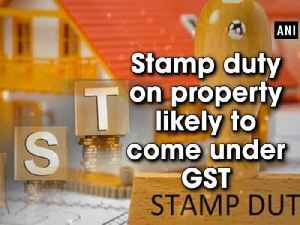 News video: Stamp duty on property likely to come under GST