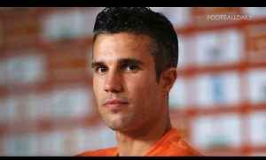 News video: Van Persie: 'It's a shame England are out'