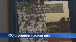News video: Legislators Introduce Proposals To Help Protect Wildfire Victims