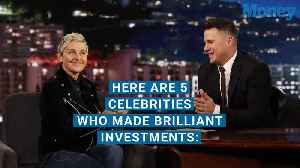 News video: Celebrities Who Made Brilliant Investment Decisions