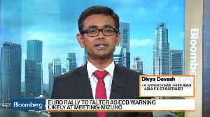 News video: StanChart's Devesh Is Long Euro-Dollar and Euro-Yen