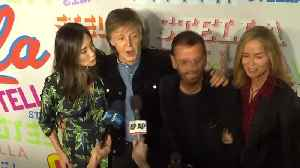 News video: Beatles reunion for Stella McCartney fashion party