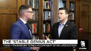News video: The Stable Genius Act