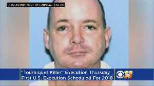 News video: 'Tourniquet Killer' Set To Be Executed In Texas