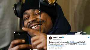 News video: Marshawn Lynch Gets Bombarded with Calls After Giving Out His Phone Number