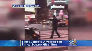 News video: Police Recover Car In Times Square Hit-And-Run