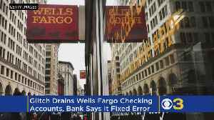 News video: Wells Fargo Glitch Leaves Customers With Empty Bank Accounts