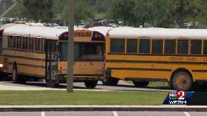 News video: Children left waiting at Kissimmee bus stop, parents say