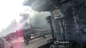 News video: Sunken tanker could be leaking heavy oil - China