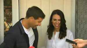 News video: New Zealand PM expecting first child