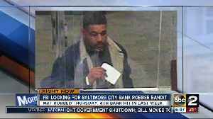 News video: Baltimore serial bank robber is at it again, FBI still searching for suspect