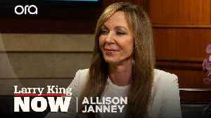 """News video: Allison Janney was """"fully prepared to lose"""" at the Golden Globes"""
