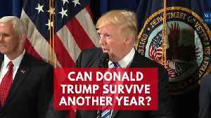News video: Can Donald Trump Survive Another Year?