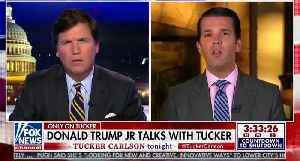 News video: Don Jr. Declares Russia Probe a 'Witch Hunt, Probably the Greatest Since The Salem Witch Trials'