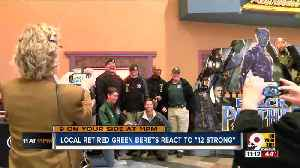 """News video: Local retired Green Berets react to """"12 Strong"""""""