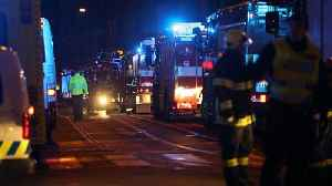 News video: Footage shows deadly hotel blaze in Prague