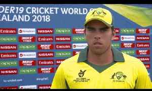 News video: Cricket World TV - Zimbabwe v Australia Highlights | ICC u19 World Cup 2018
