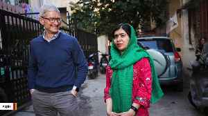 News video: Apple Partners With Malala Yousafzai To Support Girls' Education
