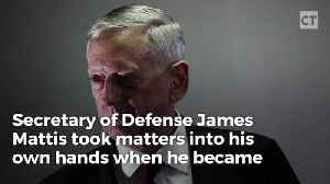 """News video: """"Mad Dog"""" Mattis Takes Charge When He Learns He'll Be Late"""